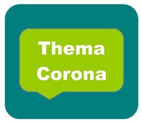 Piktogramm zum Thema Corona